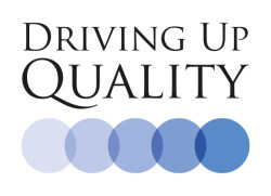 Driving-up-standards logo